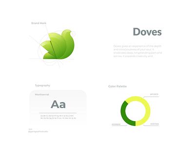 Doves ui ux vector inspiration graphic brand branding logo illustration design