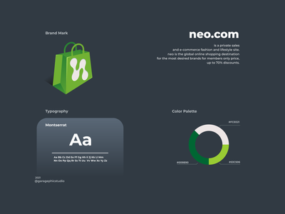 logo concept for neo.com ui ux vector inspiration graphic brand branding logo illustration design