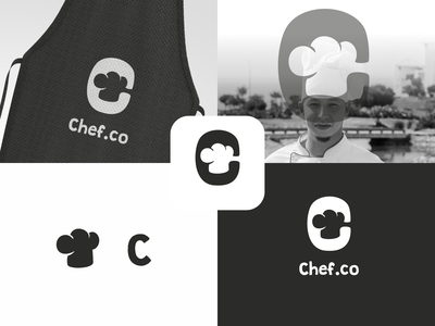 chef logo concept ui ux vector inspiration graphic brand branding logo illustration design