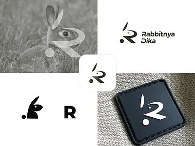 Rabbit ux ui vector inspiration graphic brand branding logo illustration design
