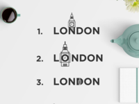 London Exploration Wordmark Logo