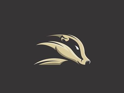 Skunk skunk monogram hidden meaning animal typography dualmeaning logotype art icon vector inspiration illustration awesome graphic designer company branding brand design logo