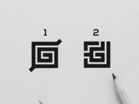 Letter Mark G Logo