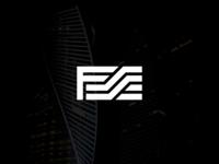 Letter Mark FS Logo