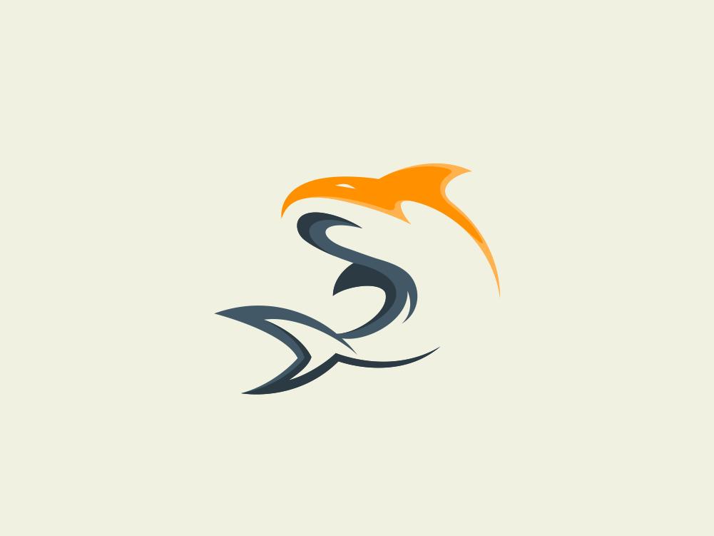 Shark Logo by Garagephic Studio on Dribbble