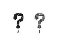 Tie Question Mark