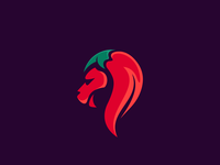 Lion chili Logo