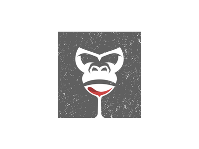Gorilla Wine Dualmeaning Design