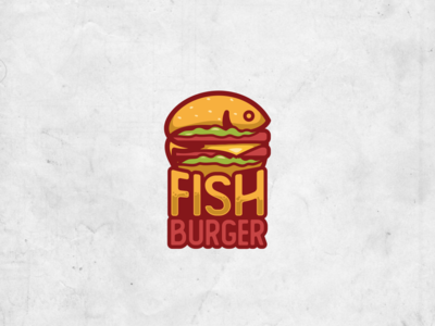 Fish Burger Logo