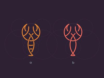 Lobster Monoline Logo