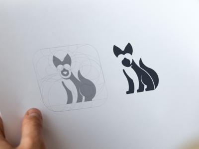 Dog Logo dog logo dog negative space logo negative space hidden meaning animal monogram inspiration app icon company awesome vector illustration graphic designer branding brand design logo