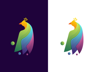 Coloful Peacock design
