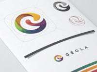 Letter G logo for GEOLA