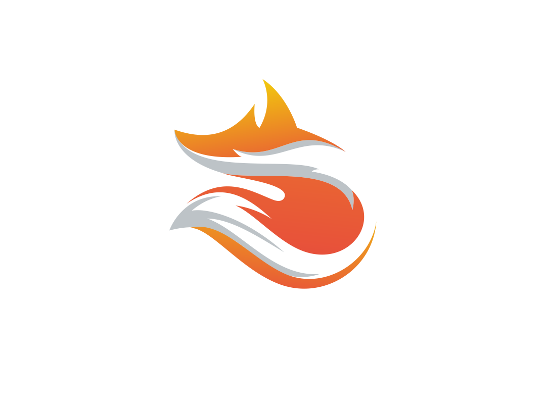 Fox Abstract Logo by Garagephic Studio on Dribbble