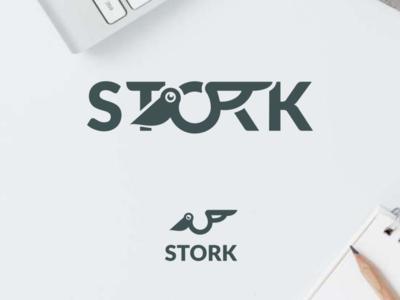 Stork Wordmark Logo