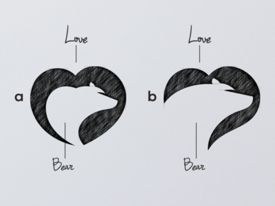 LOVE BEAR LOGO