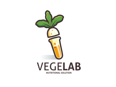 VegeLab Logo Design