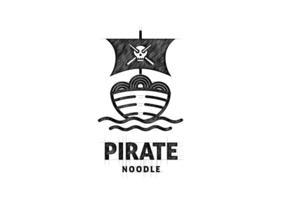 Pirate Noodle Logo