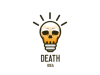 Death idea logo concept