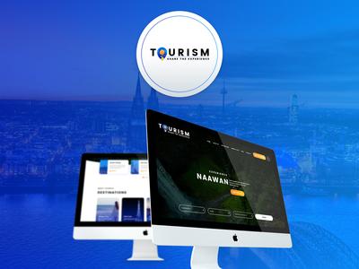 Tourism Wesbite website presentation ux ui wordpress tourism googlefont fontawesome bootstrap responsive parallax uiux web