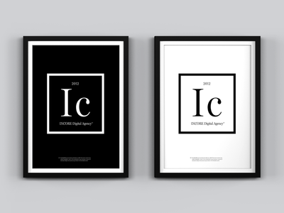 Ic - Chemical Element Poster