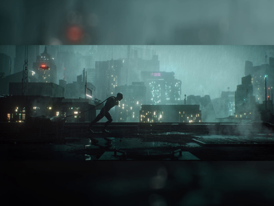 Alternate Realities sci-fi downtown skyline cityscape smoke blade runner character 3danimation environment cinematic cinema fog 3d modeling textures lighting c4d octane