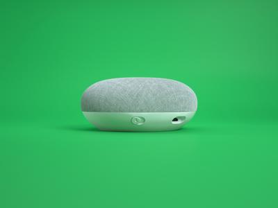 Google Home Mini - White