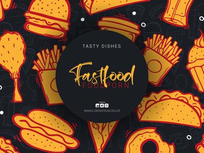 Foodporn illustrationa