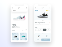 Concept online store for Nike