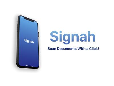 Signah UI Design mockup indesign photoshop adobe xd uiux ux ui