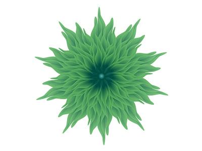 Chrysanthemum | Abstract Blend Flower icon logo blend design adobeillustrator vector illustration graphic  design digitalart