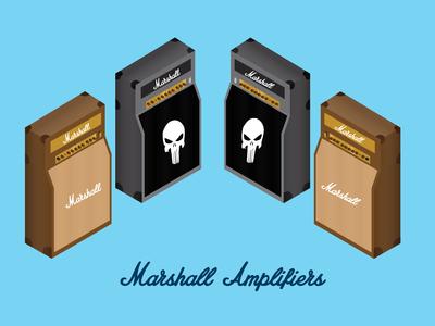 Marshall Amplifiers Isometric
