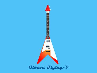 Gibson Flying V Cherry Sunburst