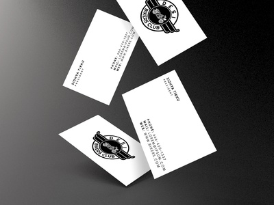 Desi Bikers Club Business Card design