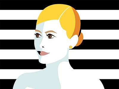 A blondy girl design illustration art digital illustration digital art illustration portrait woman