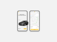 Taxi App design Concept