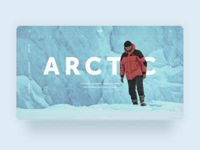 Arctic concept page