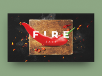 FIRE SALE Banner