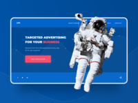 Targeted advertising. Concept page
