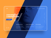 Web studio Concept Page