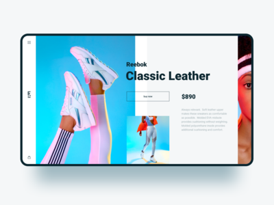 Reebok Classic Leather / Concept page