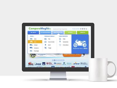 comparameglio UX 2010 uxdesign uiux ui design interfacedesign interface icons ui interfaces interface design website design web design 2010 ux interface web nooz