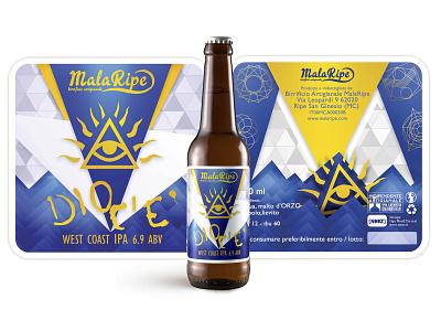 Dio c'è Beer graphic  design graphic design beer branding beer art beer can graphics beer label graphicdesign beer graphic design photoshop illustration nooz
