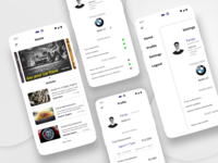 Automobile Service and Guide App