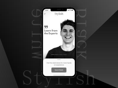 Brand App UI Concept
