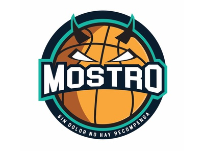 Mostro Local Team Logo Redesign sport basketball identity logo redesign logo
