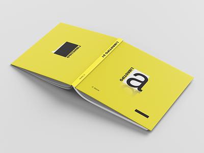 TypeBook Cover identity design book logo editorial typogaphy