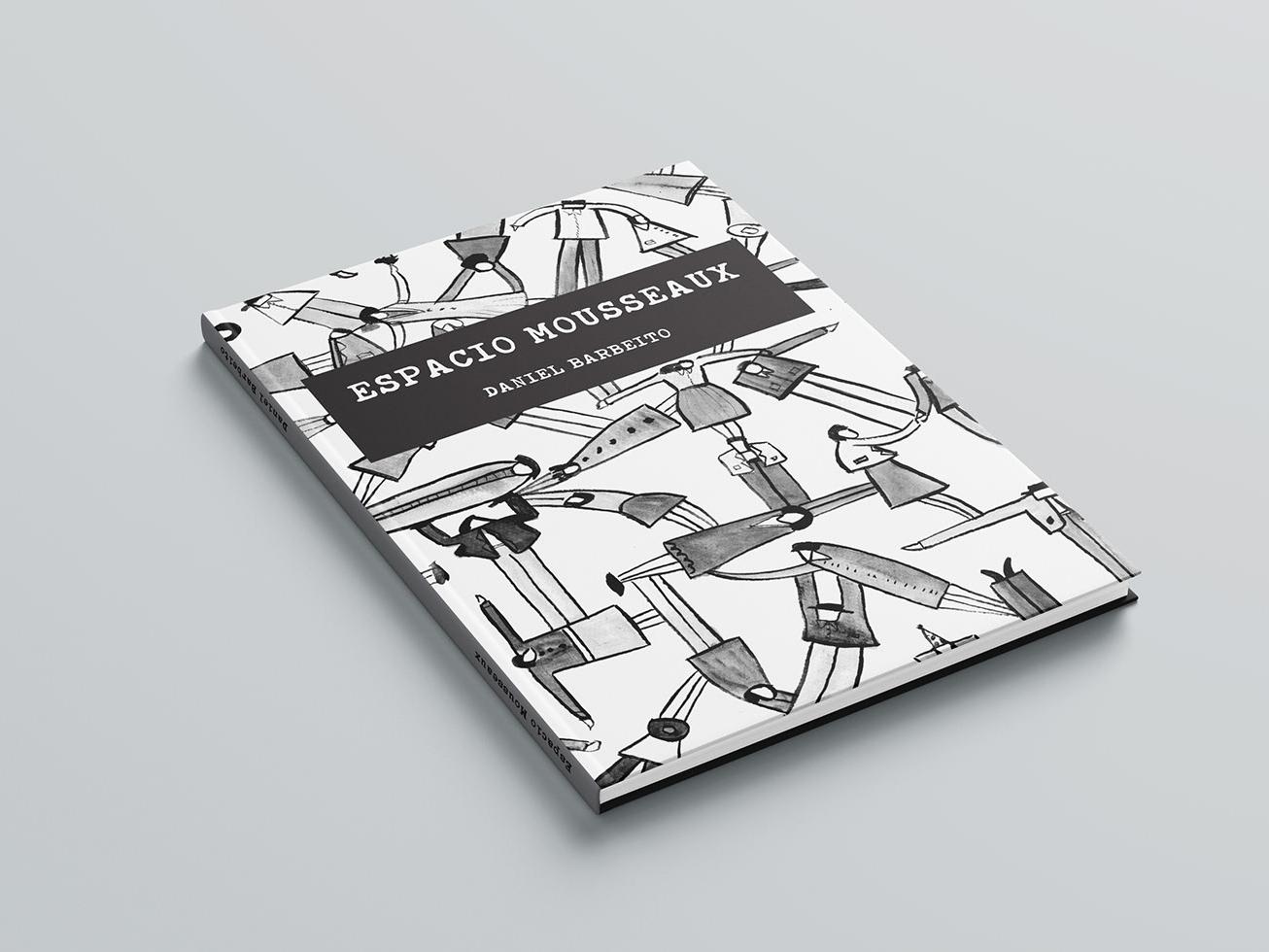 Espacio Mousseaux identity design editorial book cover book