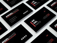 Business card Angel Mato