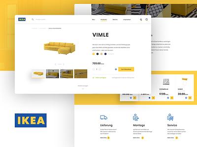 IKEA Concept furniture ui interior shop product redesign ikea concept